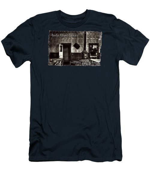 Bodie Hotel Dining Room With Pool Table Men's T-Shirt (Athletic Fit)