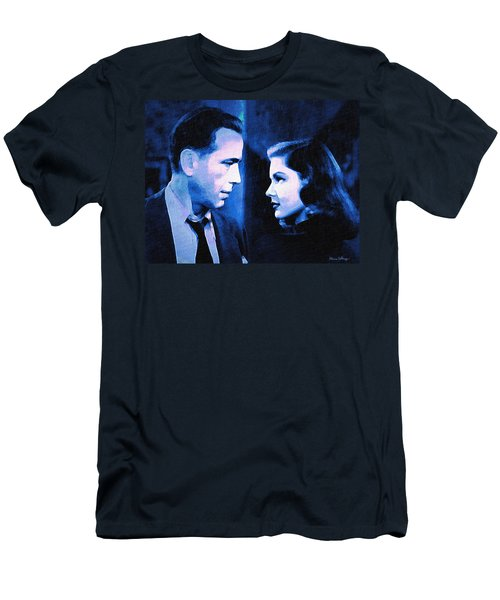 Bogart And Bacall - The Big Sleep Men's T-Shirt (Athletic Fit)