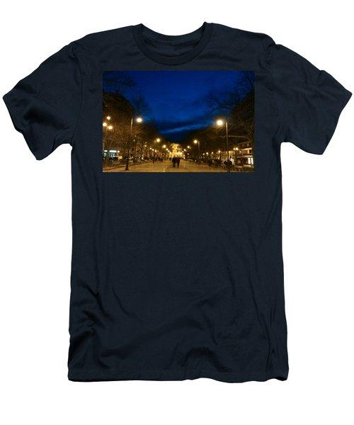 Bohemian Twilight Men's T-Shirt (Athletic Fit)