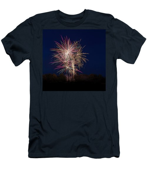 Bombs Bursting In Air IIi Men's T-Shirt (Athletic Fit)