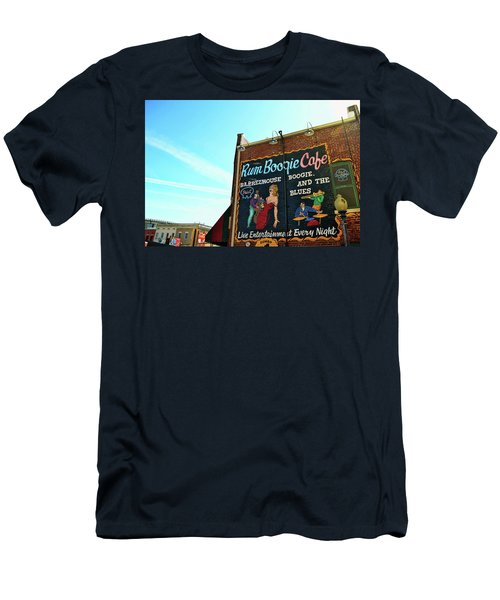 Boogie And Blues Men's T-Shirt (Slim Fit)