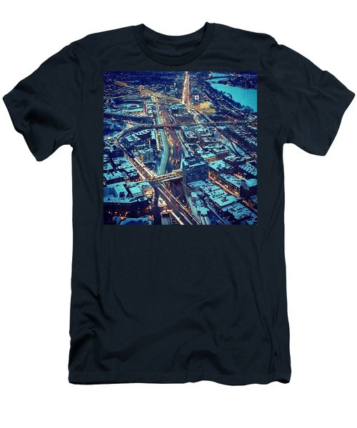 Landmarks Men's T-Shirt (Athletic Fit)