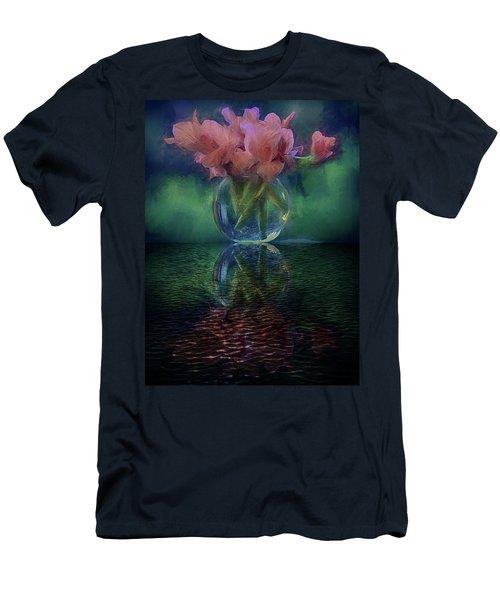 Bouquet Reflected Men's T-Shirt (Athletic Fit)