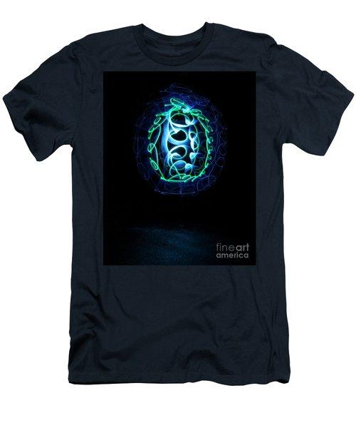 Box Turtle Men's T-Shirt (Athletic Fit)