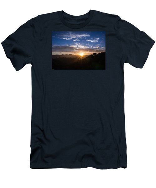 Brand New Day  Men's T-Shirt (Slim Fit) by Jeremy McKay