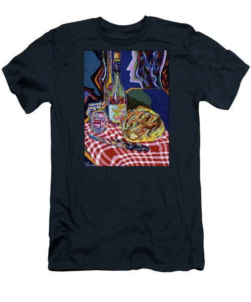 Bread And Wine Of Life Men's T-Shirt (Athletic Fit)