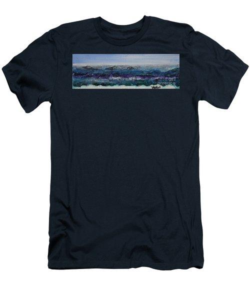 Breaking Bad Waves Men's T-Shirt (Athletic Fit)