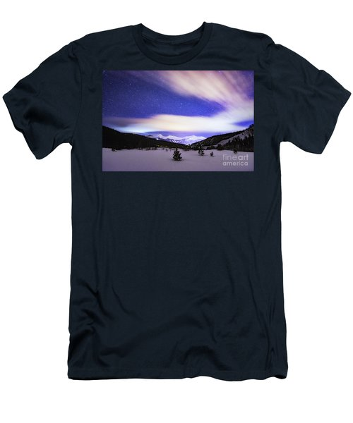 Breckenridge Blues  Men's T-Shirt (Athletic Fit)