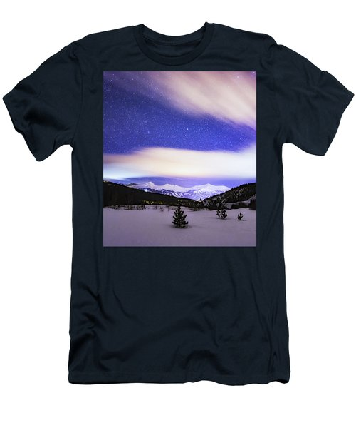 Breckenridge Blues  Men's T-Shirt (Athletic Fit)