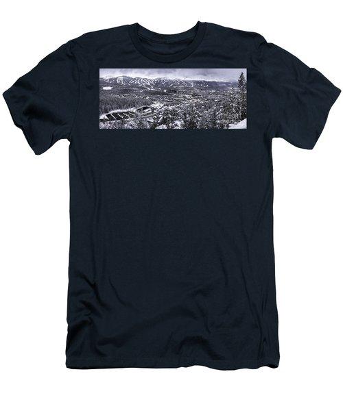 Breckenridge Ski Area Men's T-Shirt (Athletic Fit)