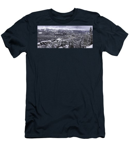 Breckenridge Ski Area Men's T-Shirt (Athletic Fit)