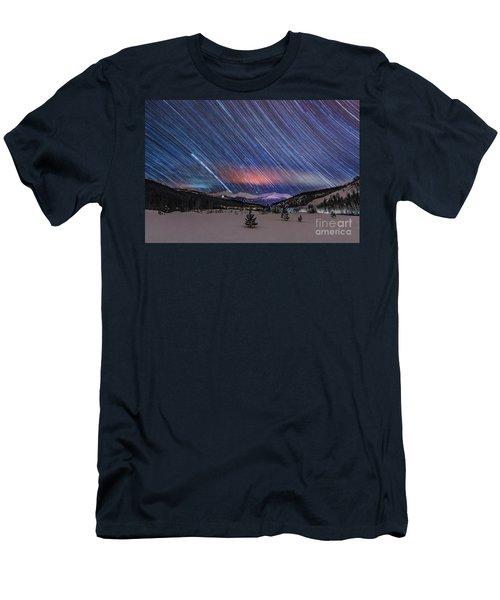 Breckenridge Trails  Men's T-Shirt (Athletic Fit)
