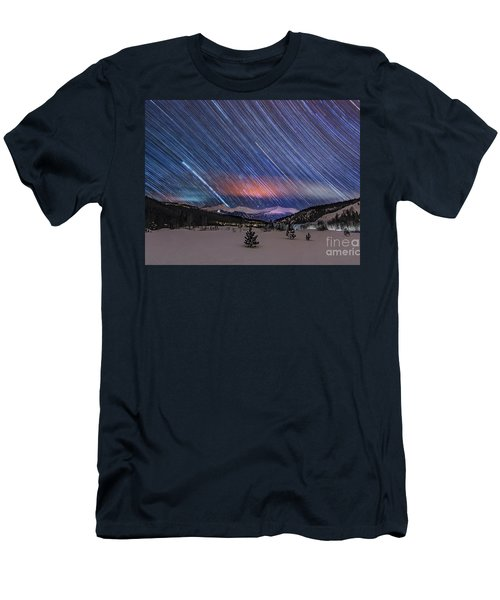 Breckenridge Trails  Men's T-Shirt (Athletic Fit)