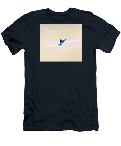 Men's T-Shirt (Slim Fit) featuring the photograph Breeze Wings by Debra     Vatalaro