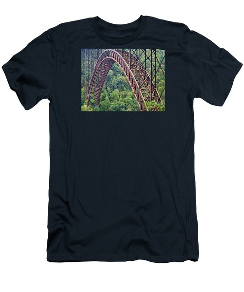 Bridge Of Trees Men's T-Shirt (Athletic Fit)