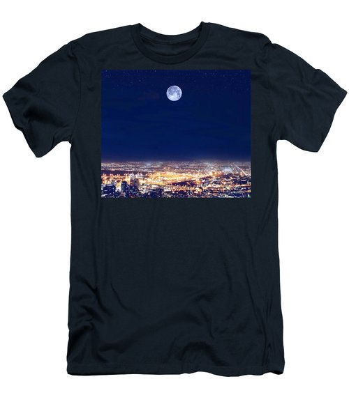Bright Lights Big City Men's T-Shirt (Athletic Fit)