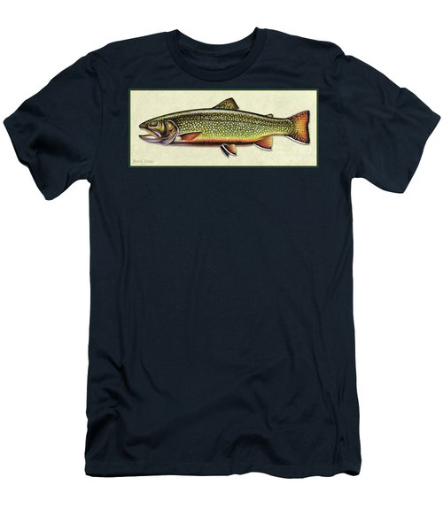 Brook Trout Id Men's T-Shirt (Athletic Fit)