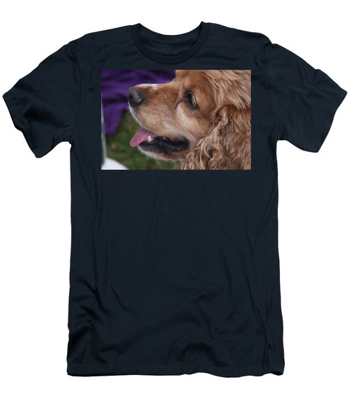 Men's T-Shirt (Slim Fit) featuring the photograph Brownie by Vadim Levin
