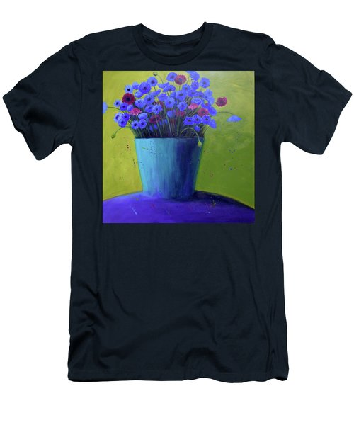 Bucket Of Blue Men's T-Shirt (Athletic Fit)
