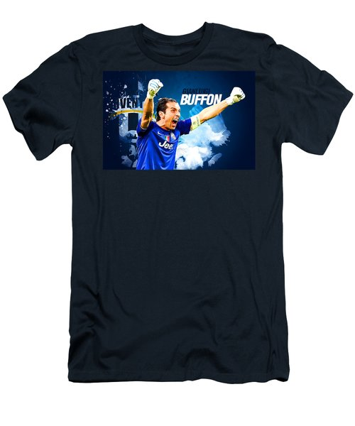 Buffon Men's T-Shirt (Slim Fit) by Semih Yurdabak