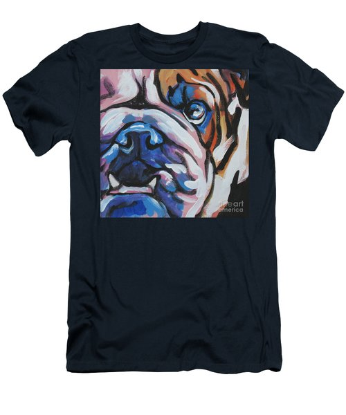 Bulldog Baby Men's T-Shirt (Athletic Fit)