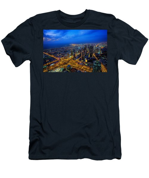 Burj Khalifa View Men's T-Shirt (Athletic Fit)