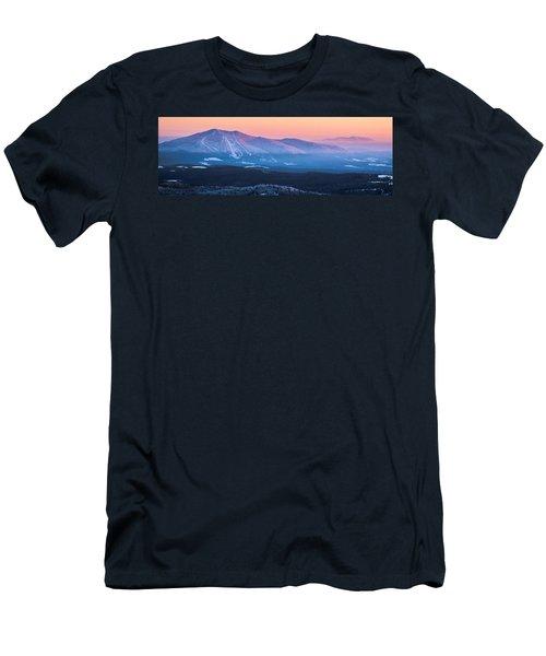 Burke To Moosilauke Men's T-Shirt (Slim Fit) by Tim Kirchoff