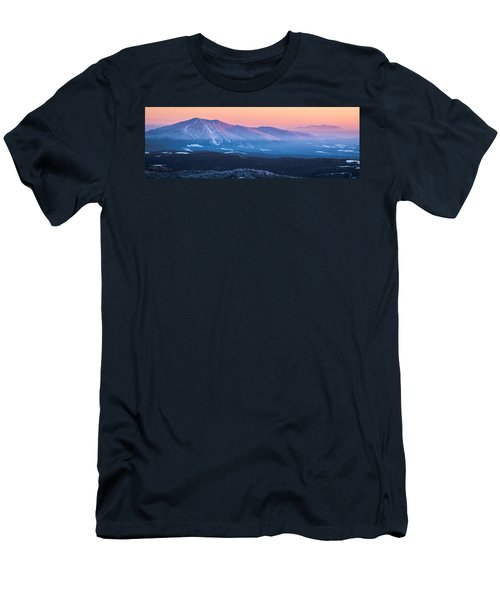 Burke To Moosilauke Men's T-Shirt (Athletic Fit)