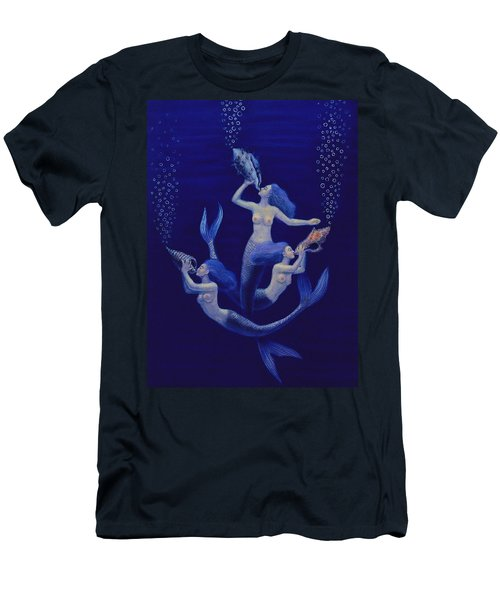 Call Of The Mermaids Men's T-Shirt (Athletic Fit)