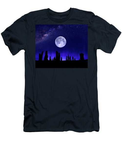 Callanish Stones Under The Supermoon.  Men's T-Shirt (Athletic Fit)