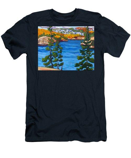 Campsite 77 Men's T-Shirt (Athletic Fit)