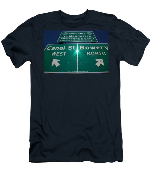 Canal And Bowery Men's T-Shirt (Athletic Fit)