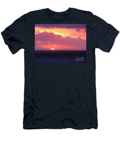 Sunrise Interrupted Men's T-Shirt (Athletic Fit)