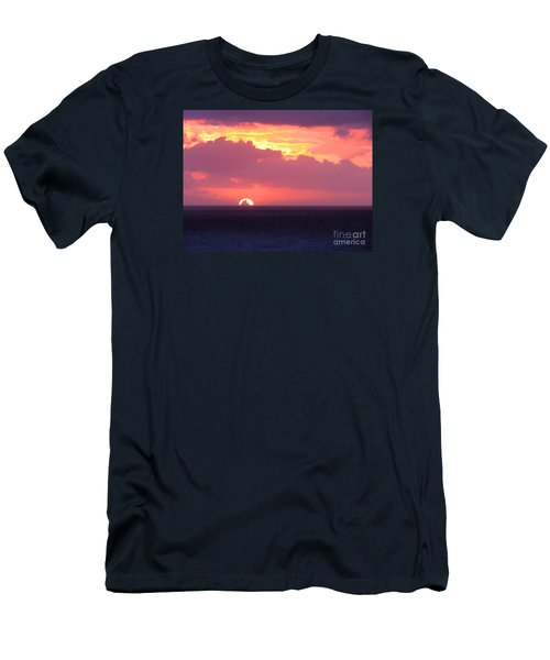 Sunrise Interrupted Men's T-Shirt (Athletic Fit)