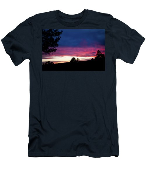 Candy-coated Clouds Men's T-Shirt (Slim Fit) by Jason Coward