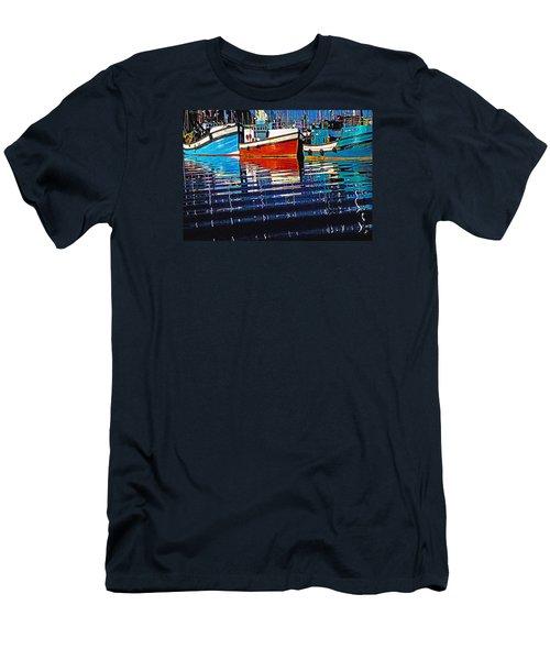 Men's T-Shirt (Slim Fit) featuring the photograph Cape Harbour by Dennis Cox WorldViews