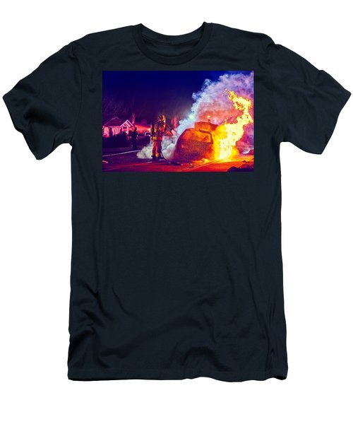 Car Arson  Men's T-Shirt (Athletic Fit)
