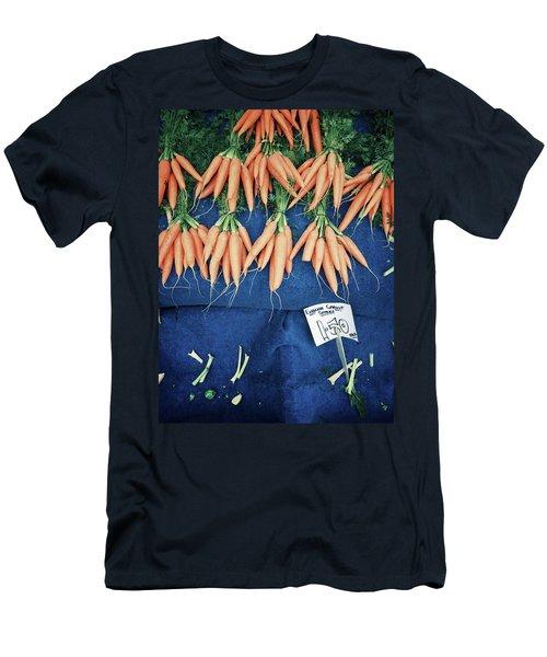 Carrots At The Market Men's T-Shirt (Athletic Fit)