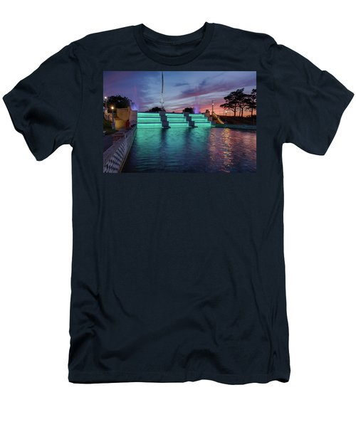 Cascade Falls Jackson Mi 1 Men's T-Shirt (Athletic Fit)