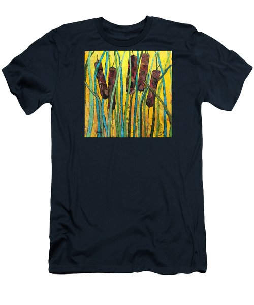 Cattails Men's T-Shirt (Athletic Fit)