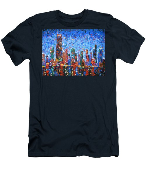 Celebration City Men's T-Shirt (Athletic Fit)