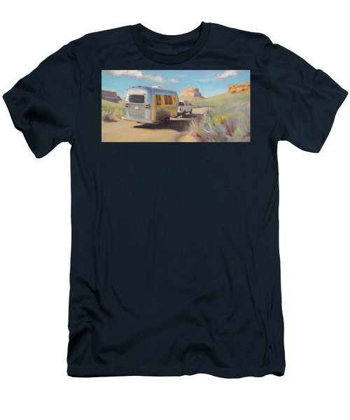 Chaco Canyon Glamping Men's T-Shirt (Athletic Fit)