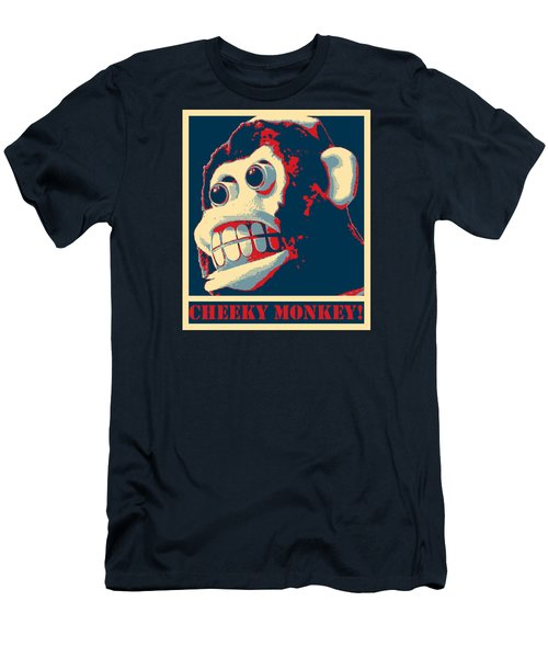 Cheeky Monkey Men's T-Shirt (Athletic Fit)