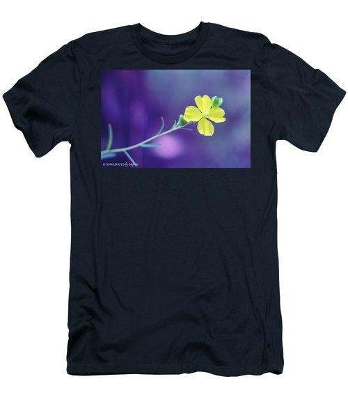 Cheer Up Buttercup Men's T-Shirt (Slim Fit) by Stefanie Silva