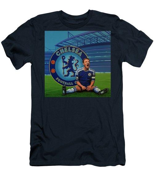 Chelsea London Painting Men's T-Shirt (Athletic Fit)