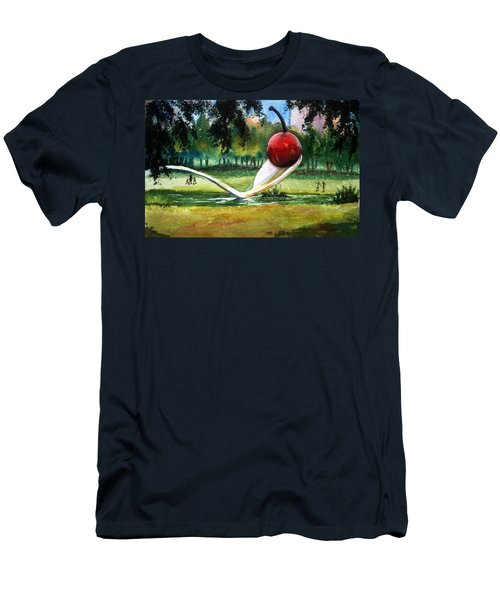 Cherry And Spoon Men's T-Shirt (Athletic Fit)