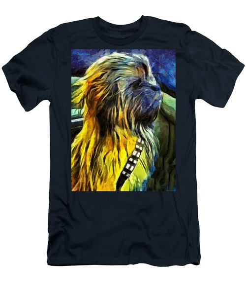 Chewbacca Dog - Da Men's T-Shirt (Athletic Fit)