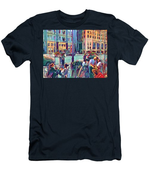 Chicago Cafe Men's T-Shirt (Athletic Fit)