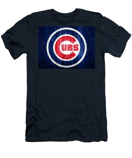 Chicago Cubs Barn Door Men's T-Shirt (Athletic Fit)