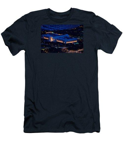 Chicago Field Museum Men's T-Shirt (Slim Fit) by Richard Zentner